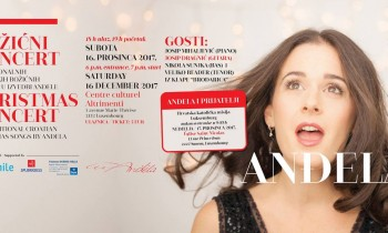 """Božićni koncerti """"Anđela i prijatelji"""" u Luksemburgu"""