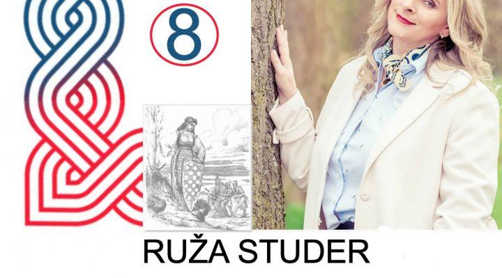"""Ruža Studer predvodi listu za dijasporu br. 8 – """"Moja voljena Hrvatska"""""""